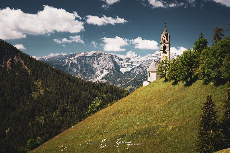 Foto Spots in Südtirol: Tolpei und die Chiesa Santa Barbara