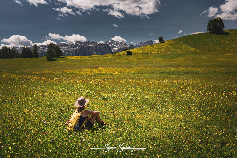 Foto Spots in Südtirol: Armentara Wiesen