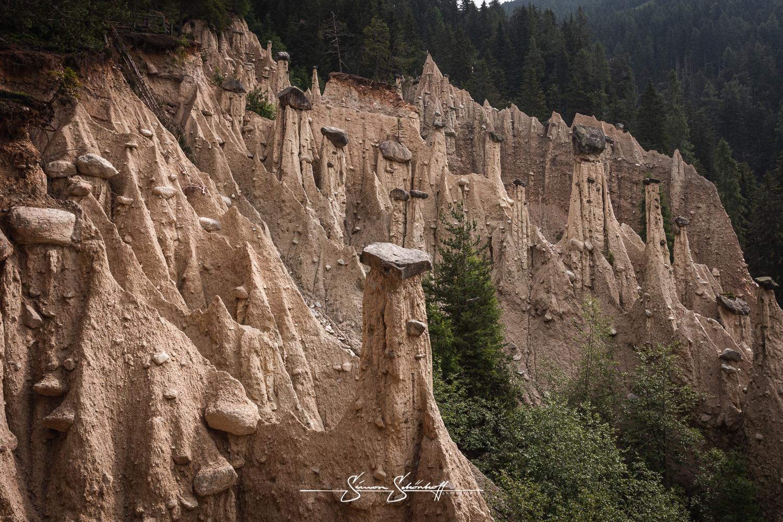 Foto Spots in Südtirol: Die faszinierenden Erdpyramiden von Percha