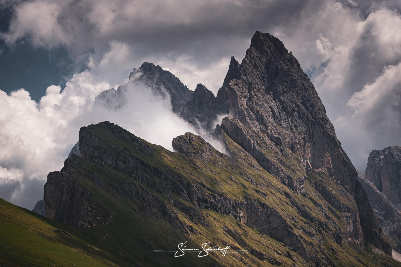 Foto Spots in Südtirol: Seceda eine einmalige Landschaft