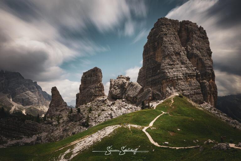 Read more about the article Foto Spots in Südtirol: Cinque Torri und Passo Falzarega