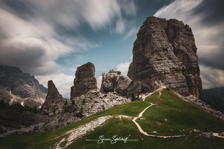 Foto Spots in Südtirol: Cinque Torri und Passo Falzarega